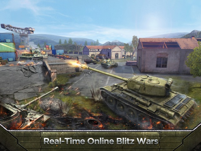 Tank Combat: Team Force - Epic Tank Simulation Comes to Multi-Touch Image