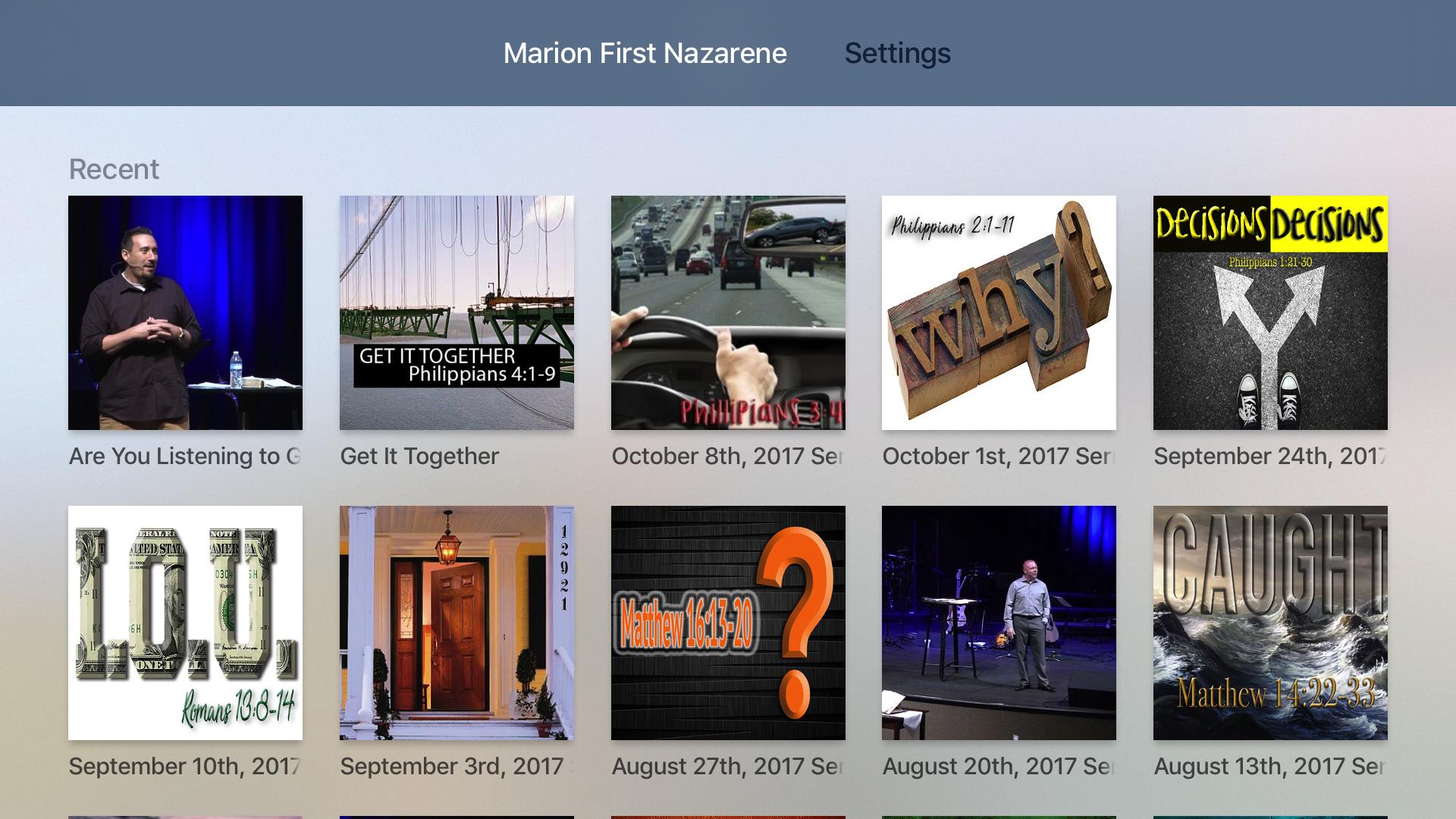 Marion First Nazarene screenshot 7