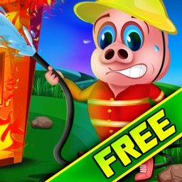 Farm Animal Firefighter Escape : The Hot Inferno Fire Barn - Free Edition