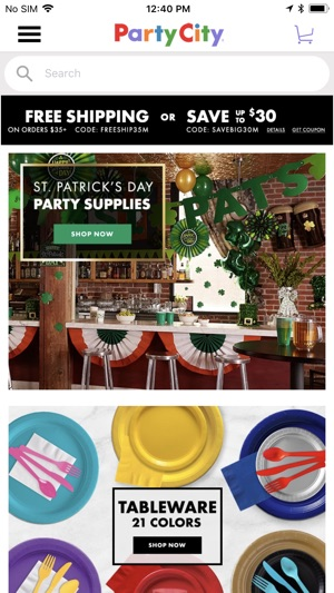 Sep 29,  · SHOP FOR PARTY SUPPLIES: • Get FREE ground shipping when using the app at a Party City location – valid for up to 24 hours after leaving the store! • Quickly browse thousands of items for any event, party, or celebration including Birthdays, Baby Showers, Bridal Showers, Weddings, Graduation, Holidays and more/5(K).