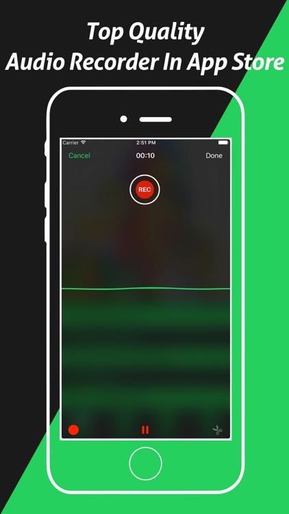 Pro Ringtone Maker - MP3 Cutter - Recorder screenshot-4