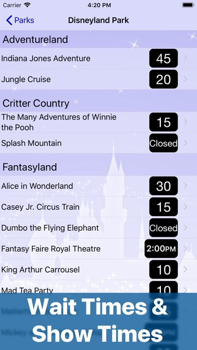 Magic Guide To Disneyland review screenshots