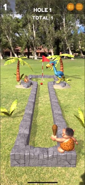 Mammoth Mini Golf AR Screenshot