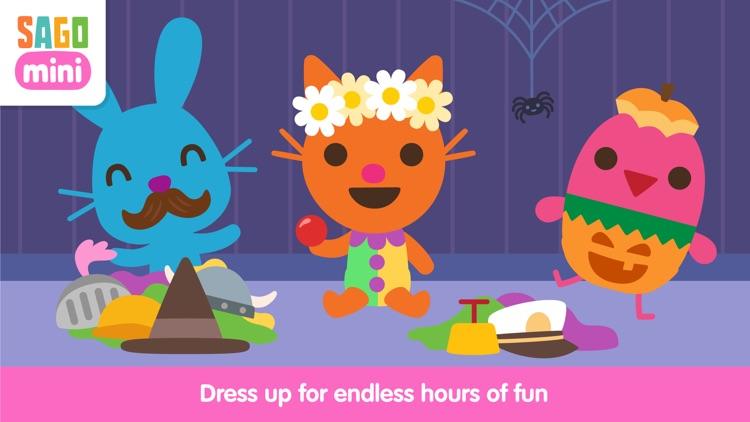 Sago Mini Babies Dress Up screenshot-0