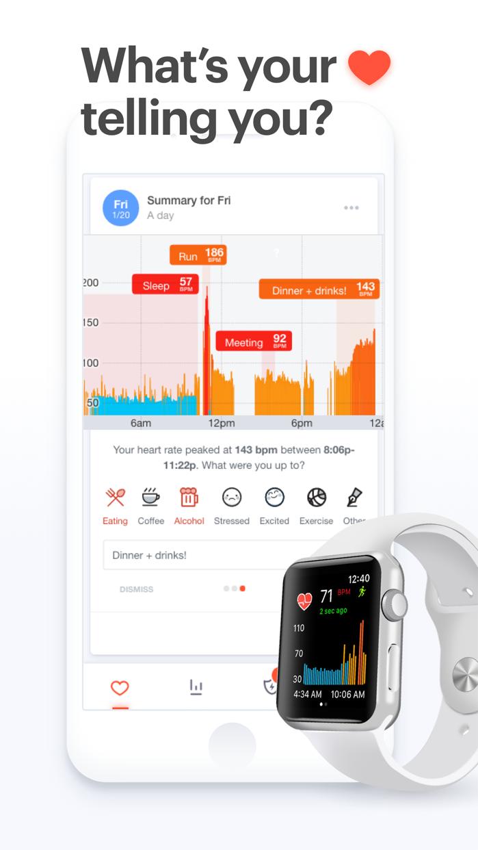 Cardiogram for Apple Watch Screenshot