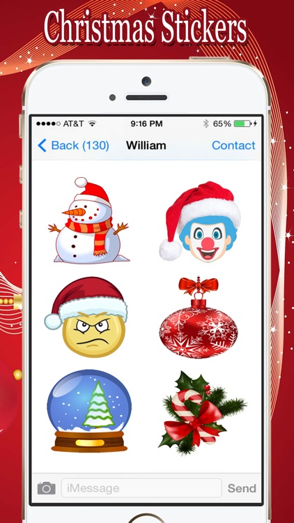 Christmas Awesome Stickers screenshot-4