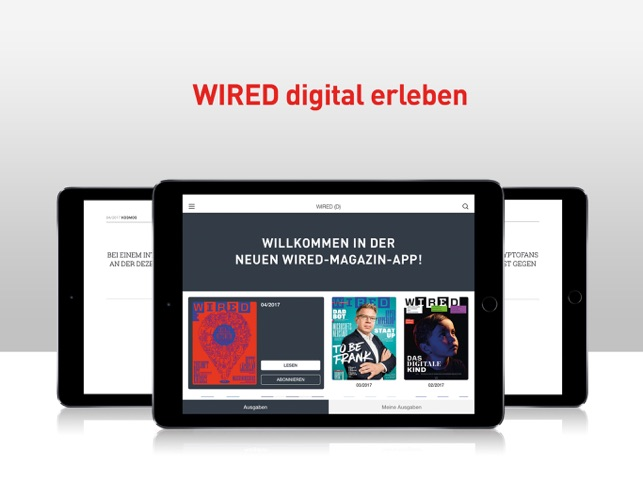 WIRED Magazin (D) Screenshot