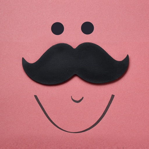 Mustache Stickers Pack For Men
