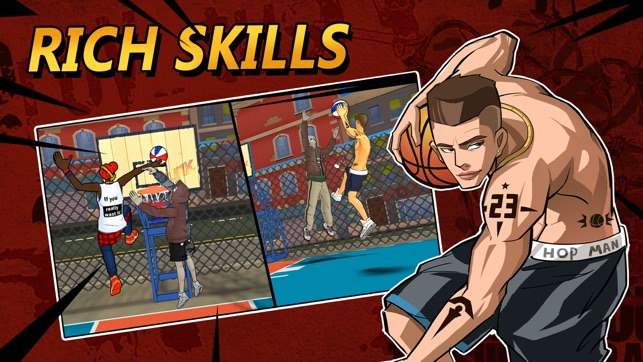 Street Dunk 3x3 Basketball Screenshot