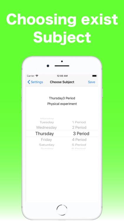 Grade TimeTable for Student screenshot-4