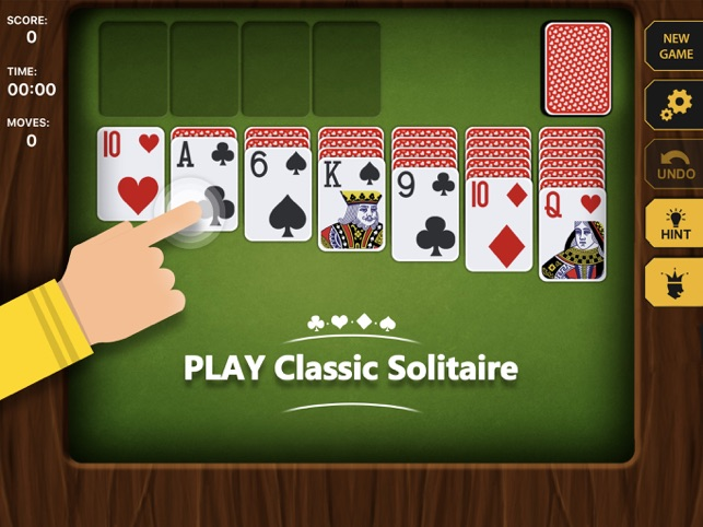 Playing solitaire at a casino can us players play real money poker online