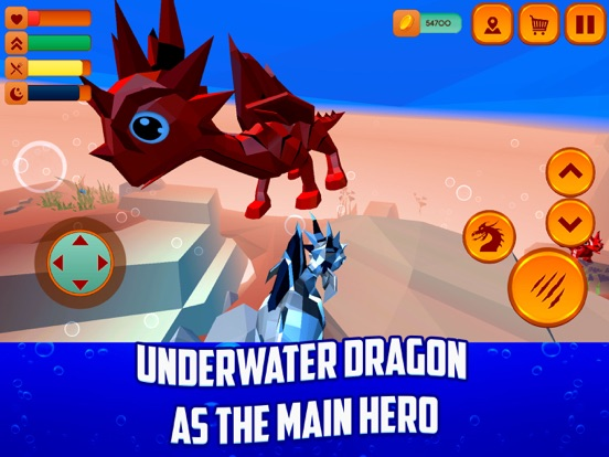 My Underwater Dragon-ipad-0