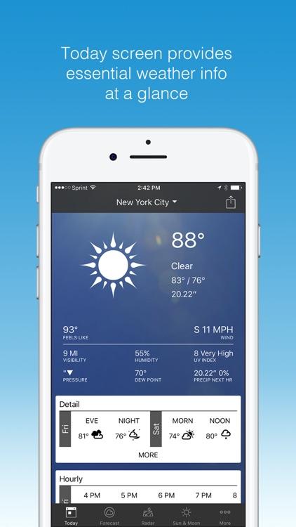 1Weather - Forecast, Radar, Widget & Alerts