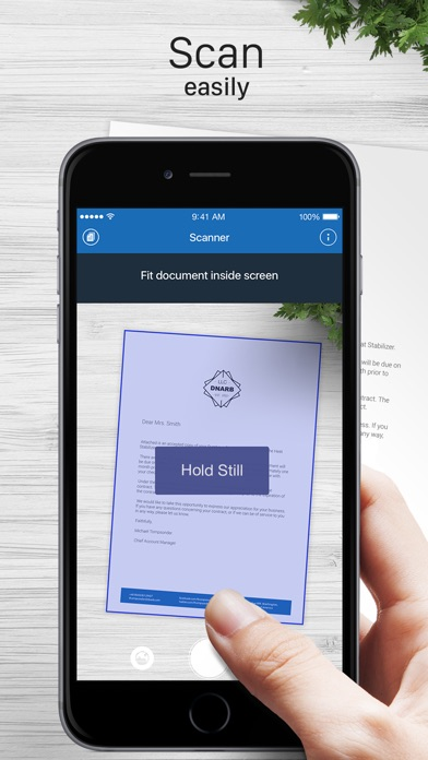 Scanner for Me: Scan documents for Windows