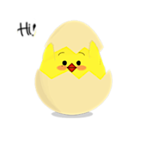 Cute Chicken - ChickenMoji Stickers app
