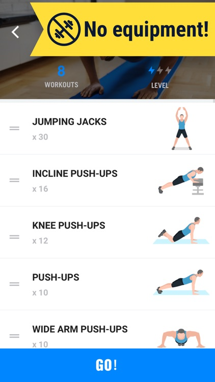 Home Workout - No Equipments screenshot-4
