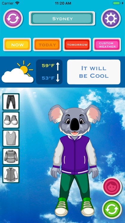 Kids Weather & What to Wear screenshot-5
