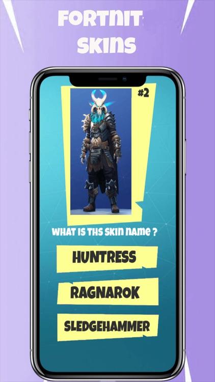 New Skins Quiz for fortnit... screenshot-3