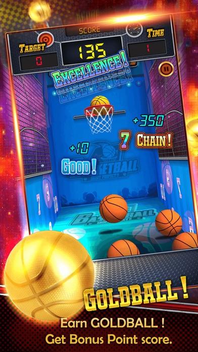 Basketball perfect throwing