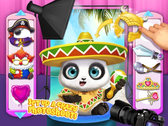 Panda Lu Baby Bear City No Ads screenshot 10