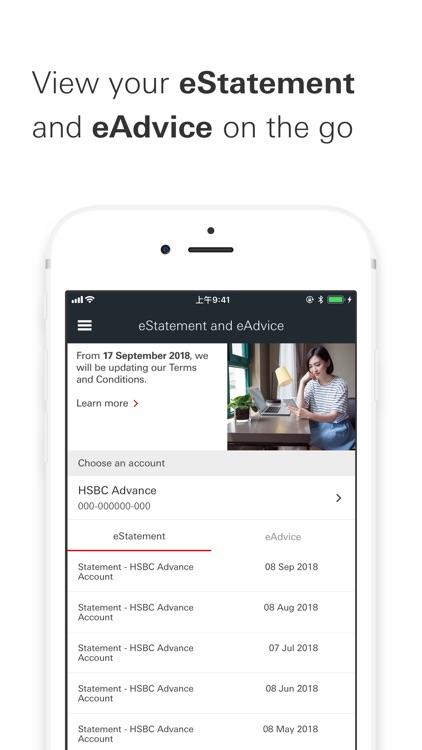 HSBC HK Mobile Banking screenshot-3