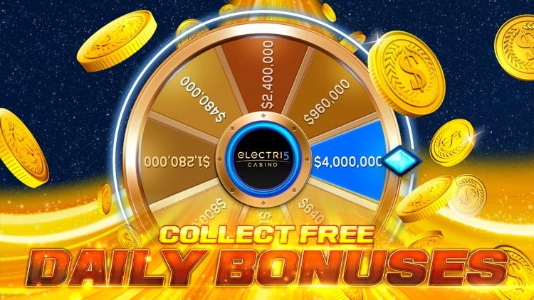 Electri5 Casino Slots! screenshot-3