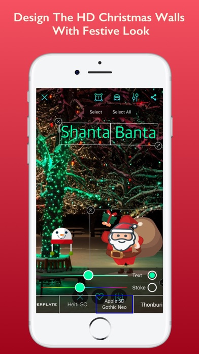 HD Christmas Wallpapers Pro screenshot three
