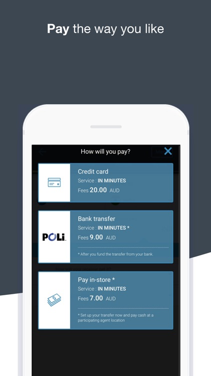 WesternUnion AU Money Transfer screenshot-3