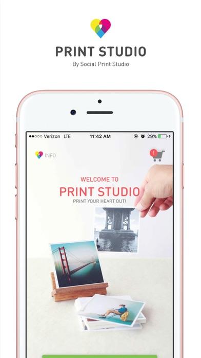 Print Studio review screenshots