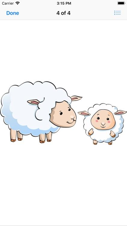 Lamb Sticker Pack screenshot-6