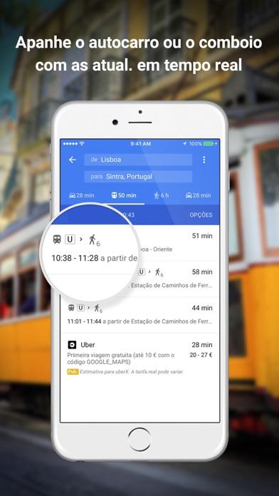 Screenshot for Google Maps in Portugal App Store