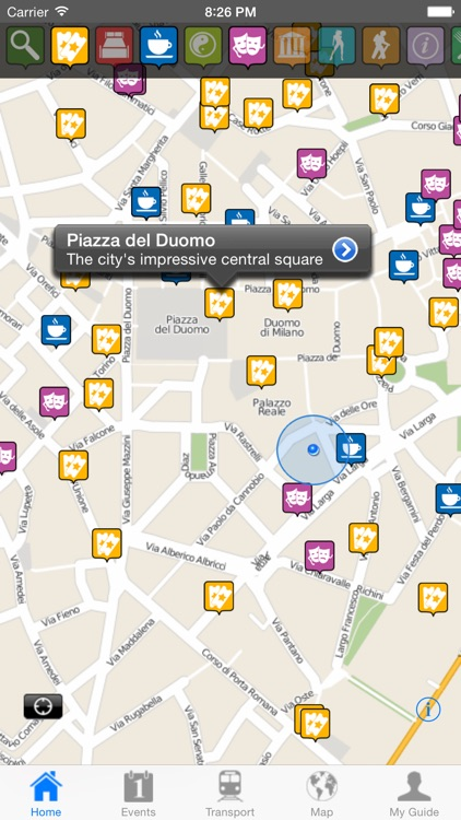 Milan Travel Guide Offline screenshot-0
