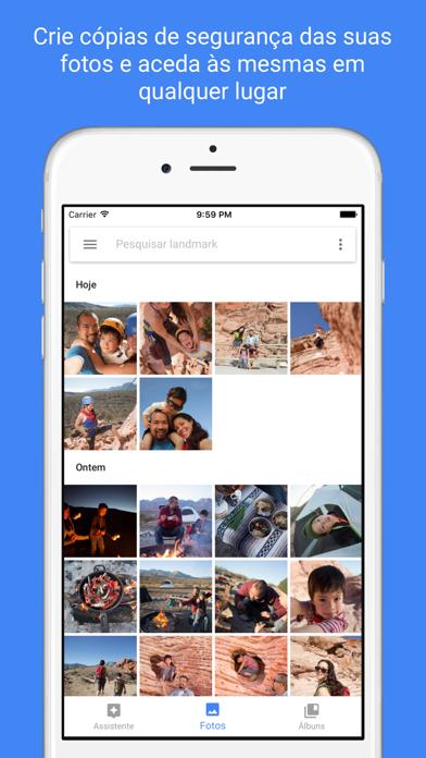 Screenshot for Google Fotos in Portugal App Store