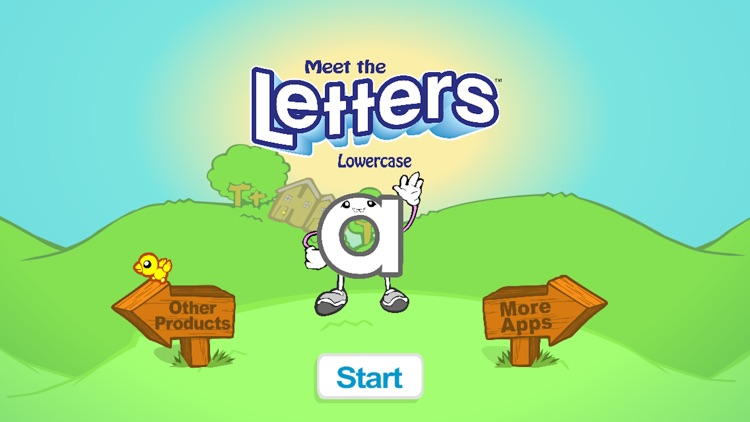 Meet the Letters - Lowercase