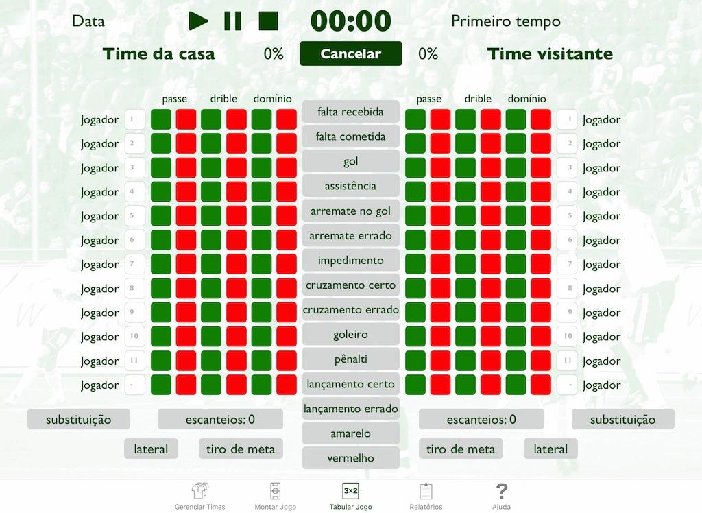 Screenshot do app ScoutGo