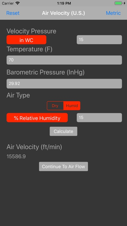 Air Velocity and Flow Calc by Dwyer Instruments, Inc