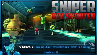 Sniper Bot Gun Shooting screenshot two