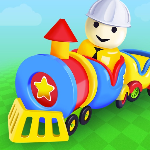Build a Toy Railway - game for boys