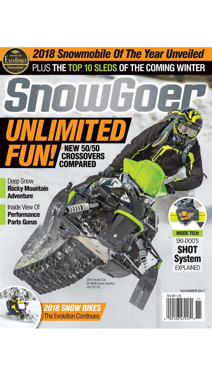 Snow Goer, World's #1 Snowmobile Magazine Screenshot