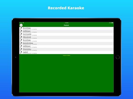 Baby Karaoke screenshot #4