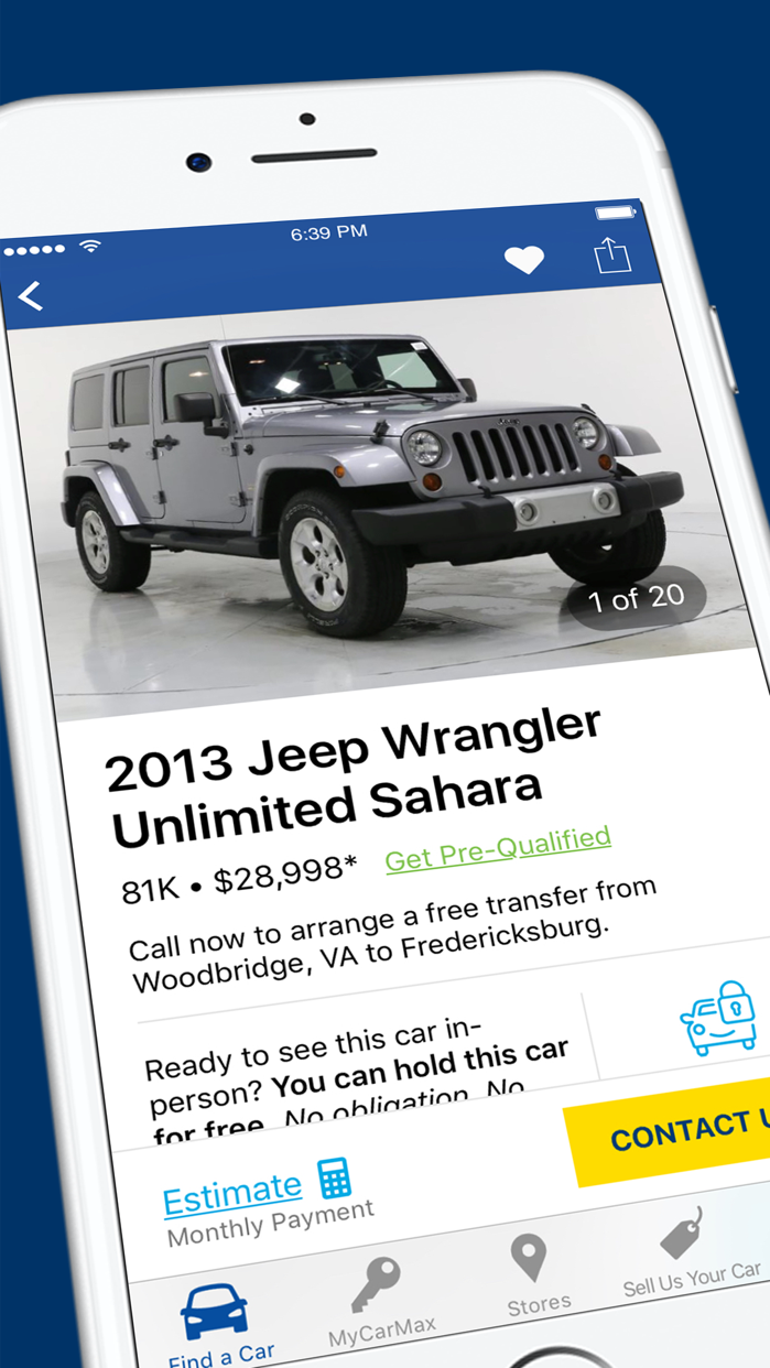 CarMax: Used Cars for Sale Screenshot