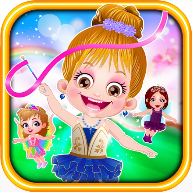 Baby Hazel Ice Princess Dressup: Baby Hazel Fairyland Ballet On The App Store