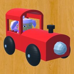 Baby Train 3D