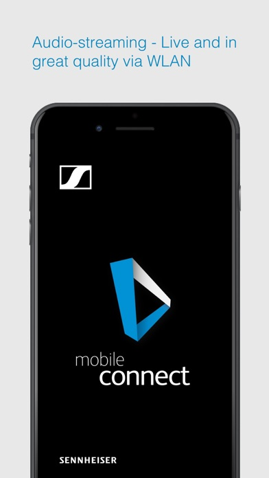 Sennheiser MobileConnect screenshot one
