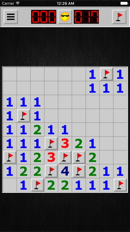 Minesweeper X !