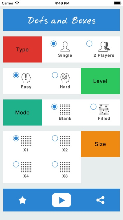 Dots and Boxes - Classic Game