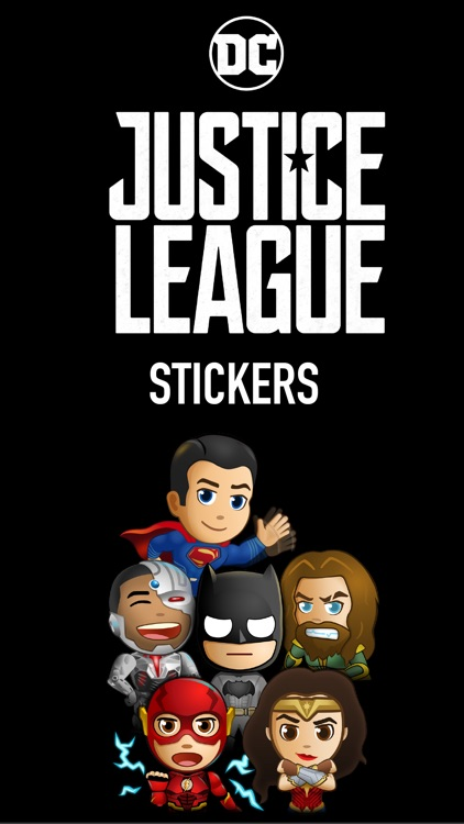 Justice League - Stickers