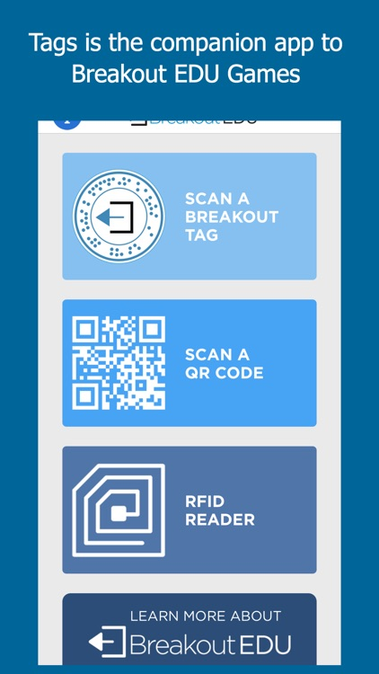 Tags by Breakout EDU