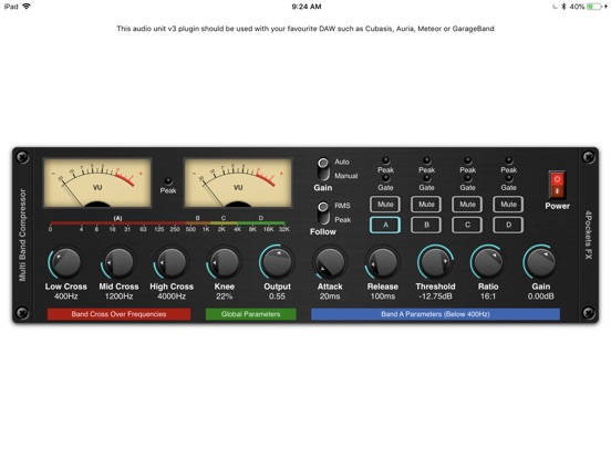 Multi-Band Compressor Plugin screenshot 3