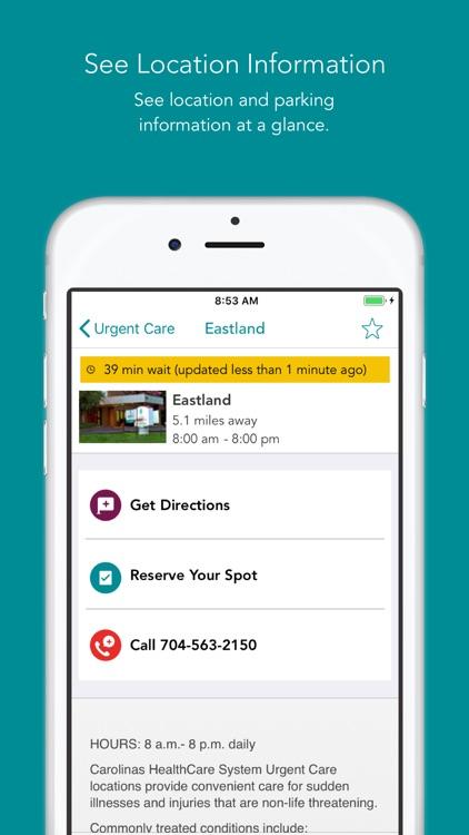 Carolinas HealthCare System screenshot-4